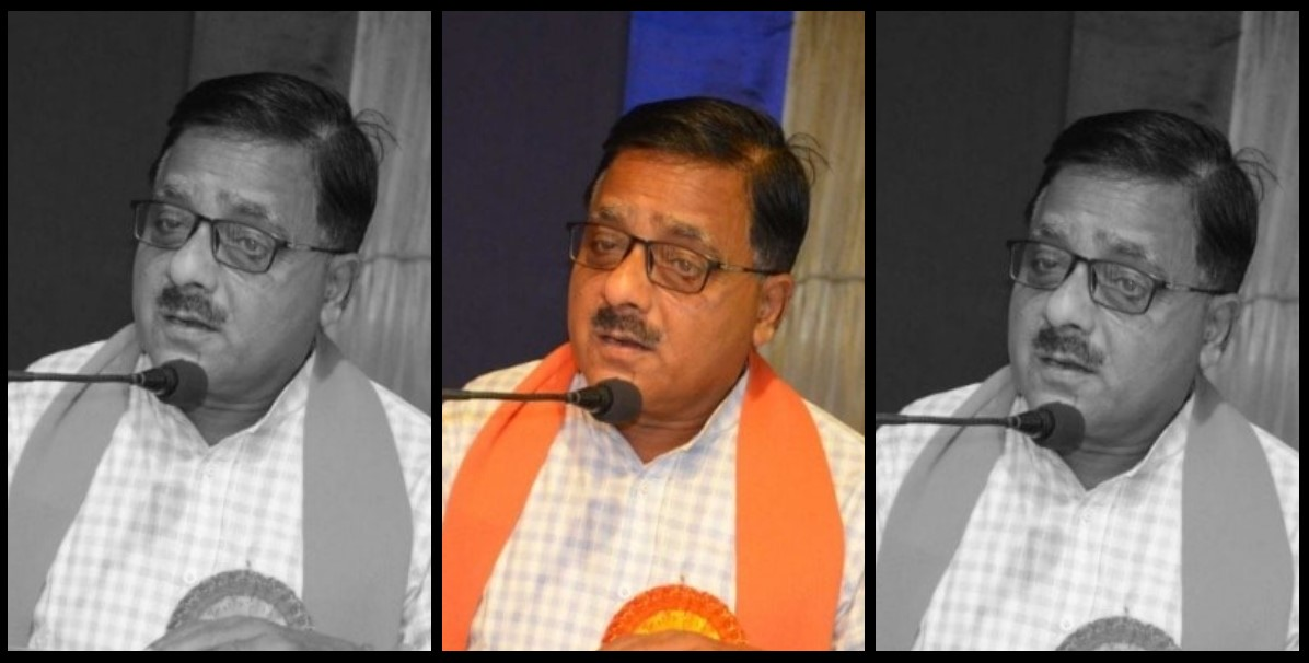 گورکھپور سےبی جے پی ایم ایل اے رادھا موہن داس اگروال (فوٹو بہ شکریہ: فیس بک)