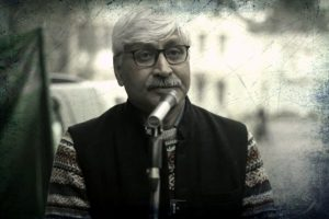 دہلی یونیورسٹی کے پروفیسر اپوروانند(فوٹو بہ شکریہ: یوٹیوب/Bytes Today)