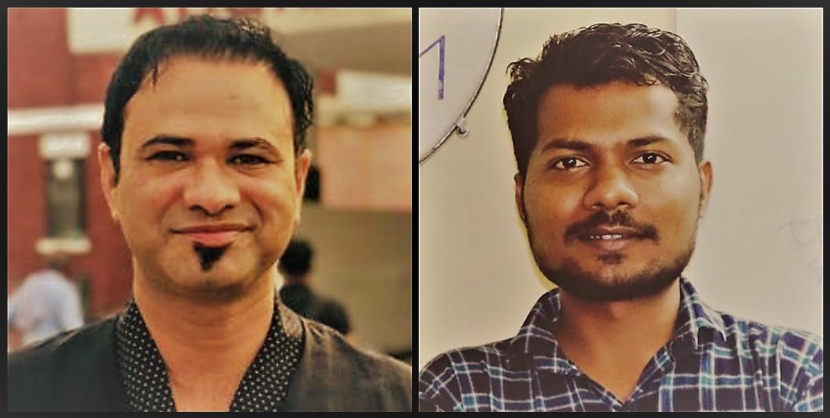 ڈاکٹر کفیل خان اور پرشانت کنوجیا(فوٹوبہ شکریہ: فیس بک)