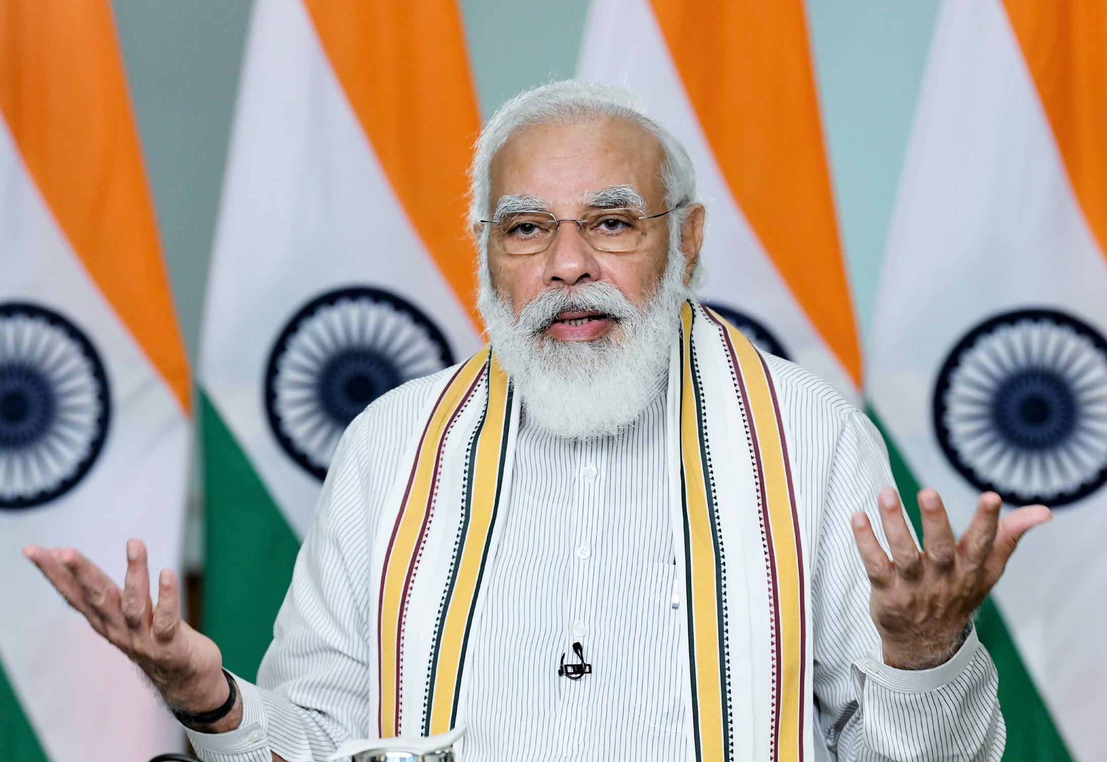 وزیر اعظم نریندر مودی(فوٹوبہ شکریہ: پی آئی بی)