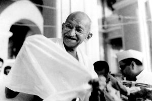 Mahatma Gandhi Photo: Wikimedia Coommons, public domain