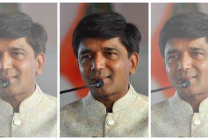 گنگاپور سے بی جے پی ایم ایل اے پرشانت بامب۔ (فوٹوبہ شکریہ: فیس بک/prashantbumbspeaks)
