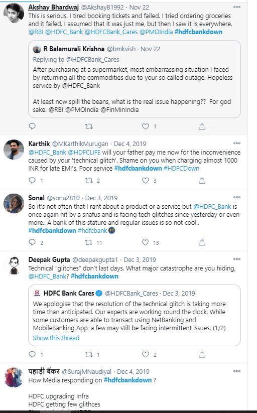 بینک میں آئیں دقتوں کو لےکر لوگوں کی جانب سے کیا گیا ٹوئٹ۔