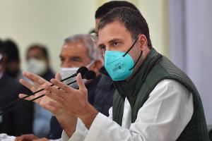 کانگریس رہنما راہل گاندھی۔ (فوٹو: پی ٹی آئی)