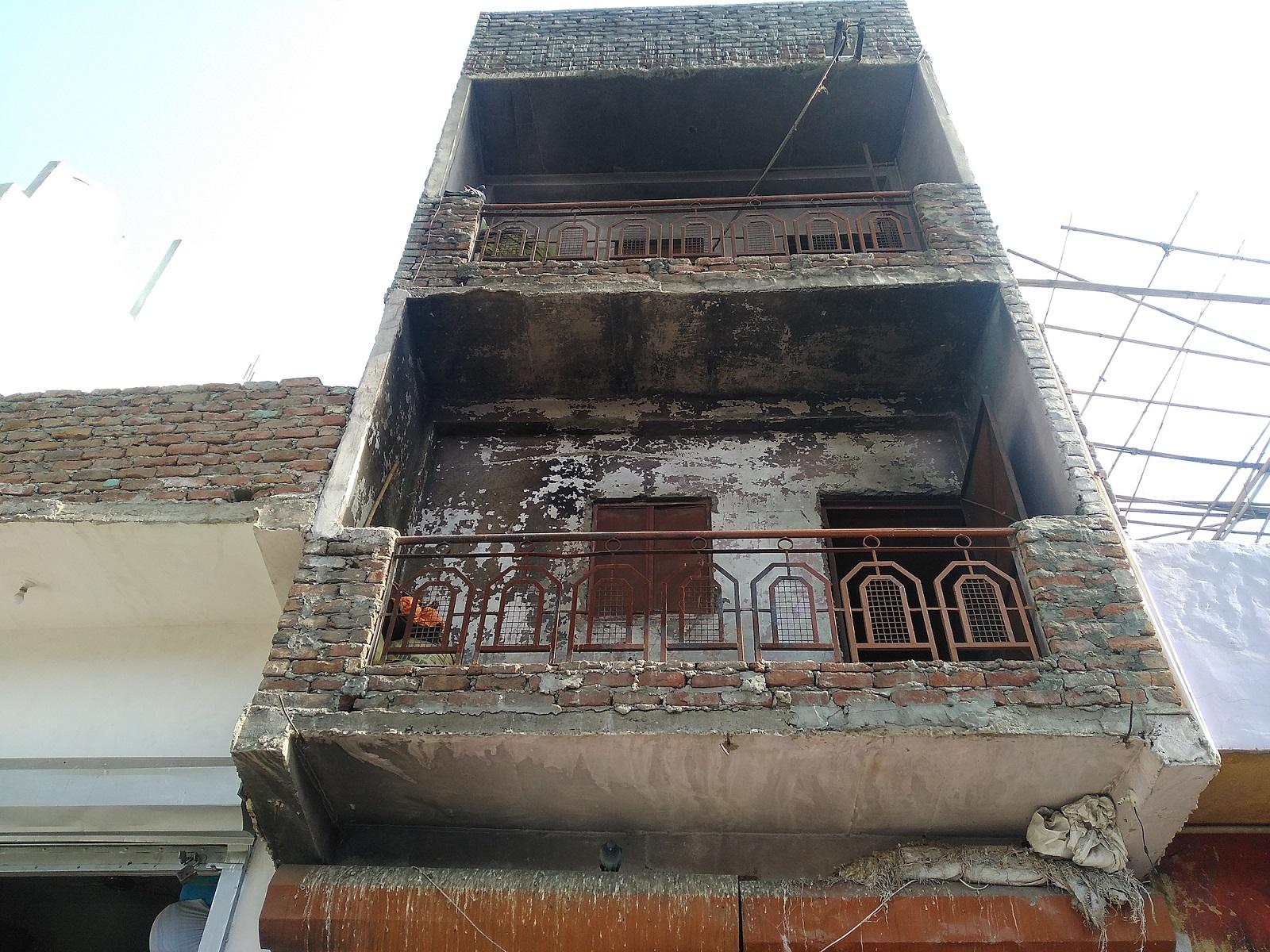 معین الدین کے دکان کی موجودہ حالت۔ (فوٹو: دی وائر)