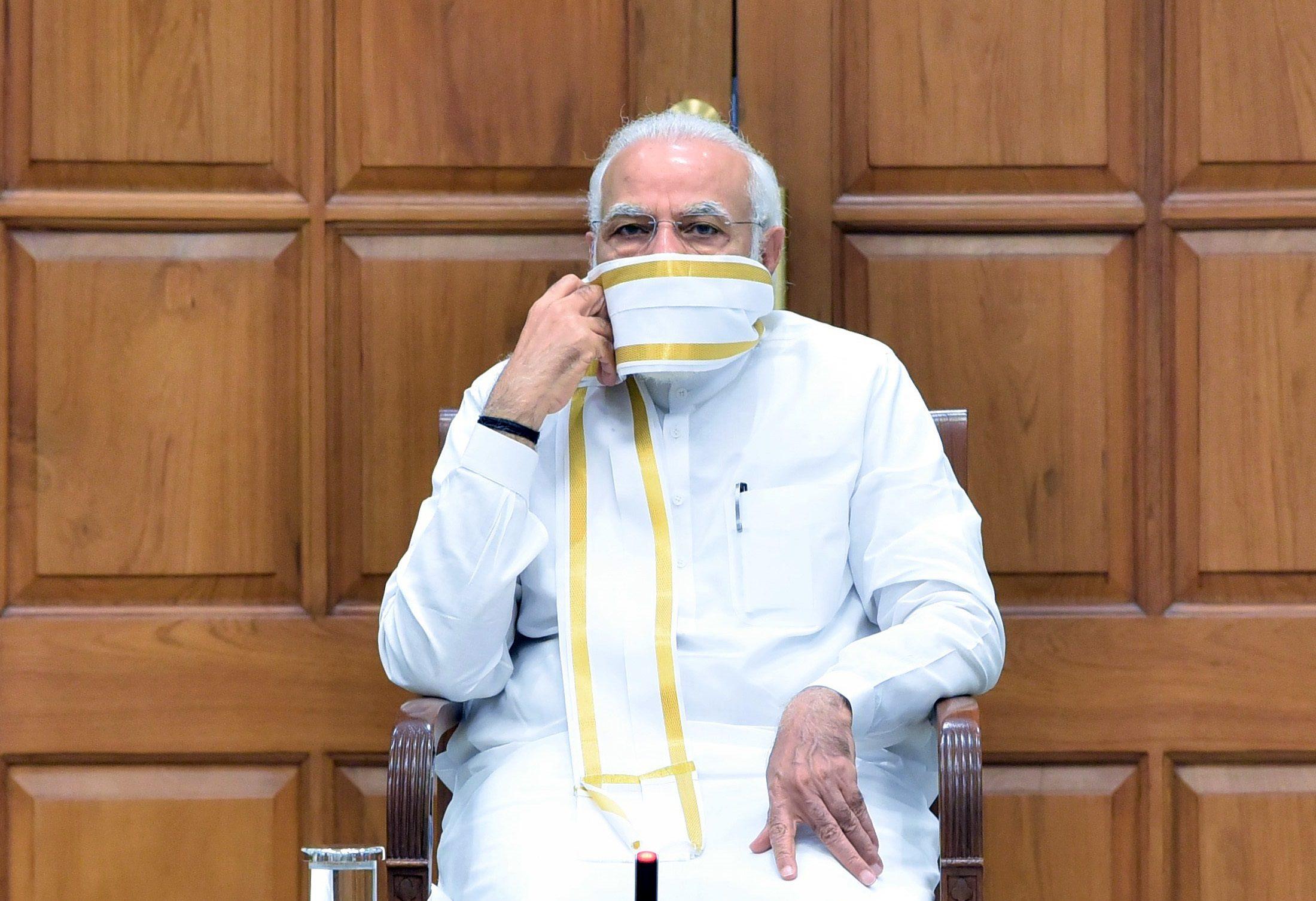 وزیر اعظم نریندر مودی۔ (فوٹو بہ شکریہ: پی آئی بی)