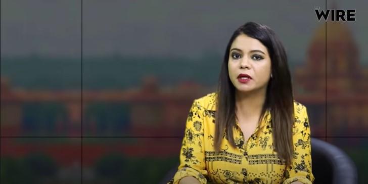 صحافی روہنی سنگھ۔ (فوٹو: دی وائر)