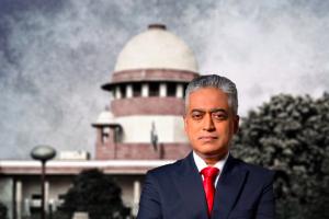 صحافی راجدیپ سردیسائی۔ (فوٹو: پی ٹی آئی/ٹوئٹر)