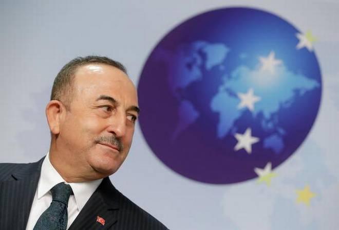 ترک وزیر خارجہ مولود چاوش اولو، فوٹو : رائٹر
