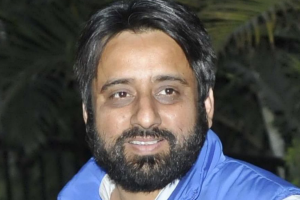 Amanatullah Khan. Photo: PTI