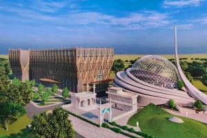 ایودھیا مسجد کمپلیکس کے مجوزہ پروجیکٹ کا بلیوپرنٹ۔ (بہ شکریہ: اسپیشل ارینجمنٹ)