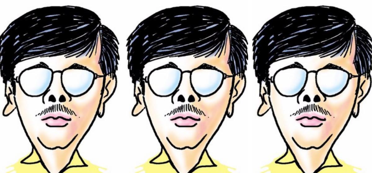 کارٹونسٹ منجل (فوٹوبہ شکریہ ٹوئٹر)