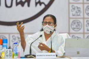 مغربی بنگال کی وزیر اعلیٰ ممتا بنرجی۔ (فوٹو: پی ٹی آئی)
