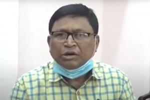 تریپورہ کے صحافی سمیر دھر (فوٹو بہ شکریہ: یوٹیوب)
