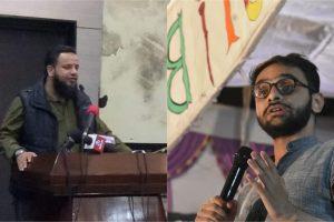 خالدسیفی اور عمر خالد (فوٹو بہ شکریہ: فیس بک/ٹوئٹر)