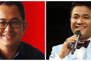صحافی کشورچندر وانگ کھیم اور کارکن ایریندرو لیچومبام۔
