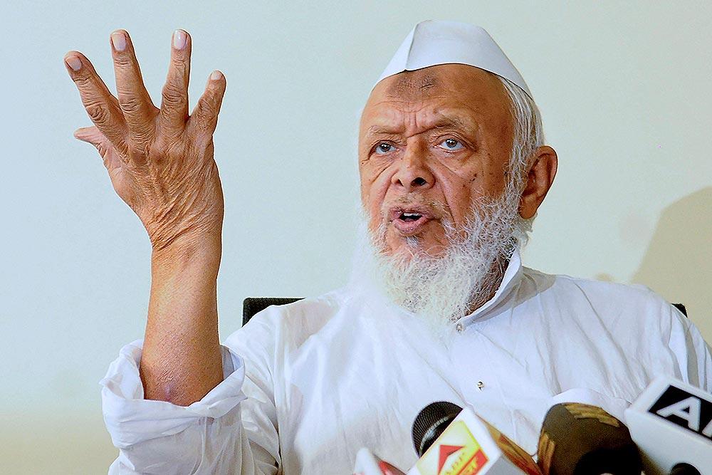 جمعیۃ علماء ہند کے سربراہ مولانا ارشد مدنی۔ (فوٹو: پی ٹی آئی)