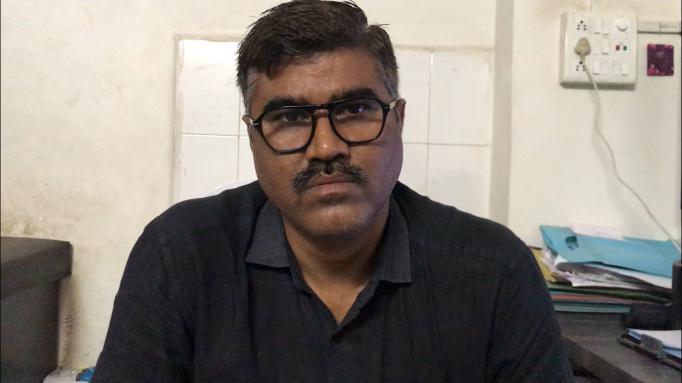 ڈاکٹر بھرت پاڑا۔ (فوٹو: شری گریش جلیہل/دی رپورٹرس کلیکٹو)