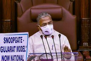راجیہ سبھا کےڈپٹی چیئرمین ہری ونش نارائن سنگھ (فوٹوبہ شکریہ راجیہ سبھا ٹی وی/پی ٹی آئی)
