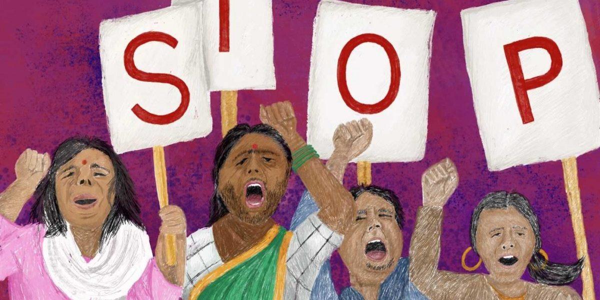 (السٹریشن بہ شکریہ: Aasawari Kulkarni/Feminism In India)